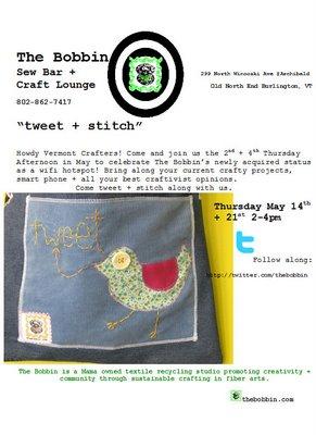 Tweet+stitch