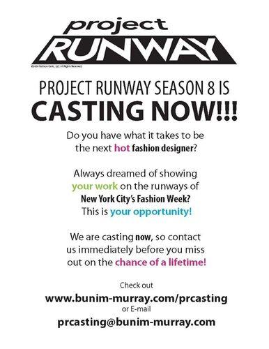 PR Casting Flyer